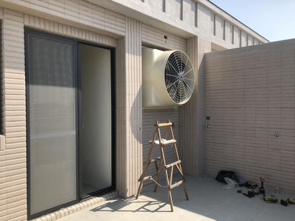 透天住宅-負壓扇安裝 通風設備