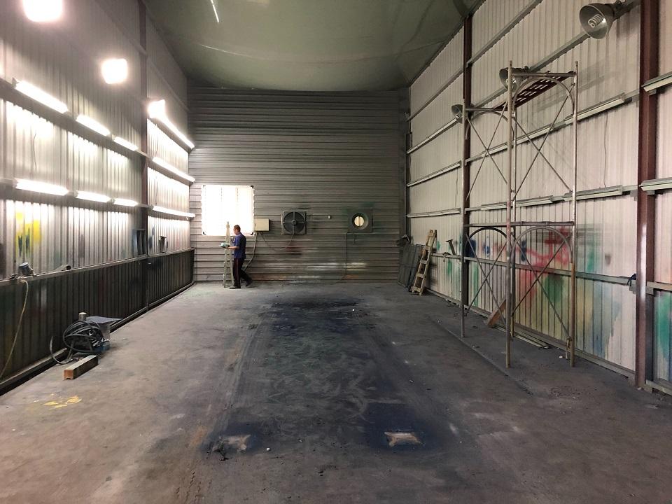台中噴漆噴砂場 凱煒通風-工業扇-粉塵排風扇