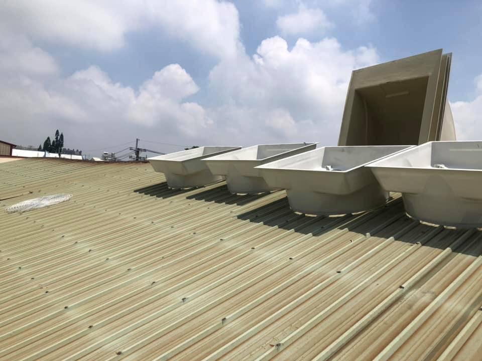 新竹通風工程-凱煒通風設備-工業風扇-排風扇-負壓風扇